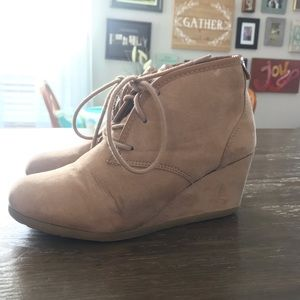 Mad Love wedge bootie